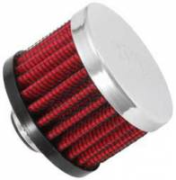 "Drivetrain - K&N Filters - K&N Clamp-On Transmission, Rear End Breather Vent Filter - 3/8"" Flange I.D."