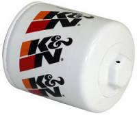 "Engine Components - K&N Filters - K&N Performance Gold Oil Filter - Canister - 3-3/4"" Tall - 3/4-16"" Thread - Various Applications"