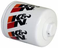 "Engine Components - K&N Filters - K&N Performance Gold Oil Filter - Canister - 3-3/4"" Tall - 13/16-16"" Thread - AMC/GM/Isuzu/Holden/Hummer/Jeep"
