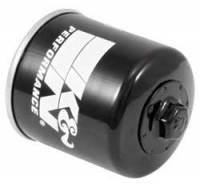 "K&N Filters - K&N Powersports Oil Filter - Canister - 3-11/32"" Tall - 20 mm x 1.5 Thread - Honda®/Kawasaki/Polaris/Yamaha - Image 2"