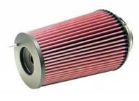 "K&N Filters - K&N Universal Air Filter - Conical - 6-5/8"" Base - 5-1/4"" Top - 9-1/2"" Tall - 4"" Flange - Image 2"