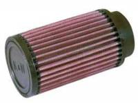 "Air Filter Elements - Fuel Injector Air Filters - K&N Filters - K&N Universal Fuel Injector Stack Air Filter - 2.50"" Inlet - 2-7/16"" Injector Bore I.D. - 3-1/2"" x 6"""