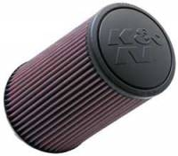 "K&N Filters - K&N Universal Air Filter - Conical - 6"" Base - 4-5/8"" Top - 9"" Tall - 4"" Flange - Image 1"