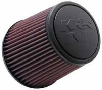 """K&N Filters - K&N Universal Air Filter - Conical - 6"""" Base - 4-5/8"""" Top - 6"""" Tall - 3"""" Flange - Image 1"""