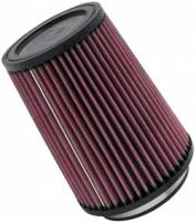 """K&N Filters - K&N Universal Air Filter - Conical - 5-3/8"""" Base - 4-3/8"""" Top - 7"""" Tall - 4"""" Flange - Image 2"""
