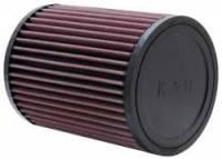 "Universal Round Clamp-On Air Filters - 5"" Round Clamp-On Air Filters - K&N Filters - K&N Universal Air Filter - Round - 5"" Diameter - 6-1/2"" Tall - 3"" Flange"