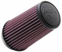 "Air Filter Elements - Conical Air Filters - K&N Filters - K&N Universal Air Filter - Conical - 4-5/8"" Base - 3-1/2"" Top - 7"" Tall - 3-1/2"" Flange"