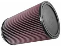 "K&N Filters - K&N Universal Air Filter - Round - 6-1/2"" Diameter - 10"" Tall - 5"" Flange - Image 2"