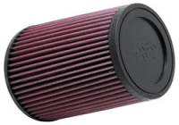 """Universal Conical Air Filters - 5-3/8"""" Conical Air Filters - K&N Filters - K&N Universal Air Filter - Conical - 5-3/8"""" Base - 4-3/8"""" Top - 7"""" Tall - 3-3/4"""" Flange"""