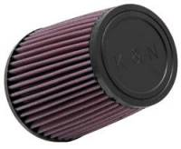 "Air Filter Elements - Conical Air Filters - K&N Filters - K&N Universal Air Filter - Conical - 4-5/8"" Base - 3-1/2"" Top - 5-1/2"" Tall - 3-1/2"" Flange"