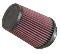 """K&N Filters - K&N Universal Air Filter - Conical - 4-1/2"""" Base - 3-1/2"""" Top - 5-3/4"""" Tall - 3"""" Flange - Image 1"""