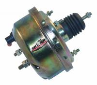 "Brake System - Tuff Stuff Performance - Tuff Stuff 7"" Brake Booster - Single Diaphragm - Gold Zinc - Universal"