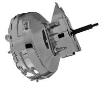 "Brake System - Tuff Stuff Performance - Tuff Stuff 11"" Brake Booster - Dual Diaphragm - Chrome - GM Truck 1973-93"
