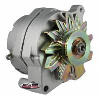 Ignition & Electrical System - Tuff Stuff Performance - Tuff Stuff Alternator - 100 AMP - Smooth Back - 1-Wire -Ford - V-Groove Pulley