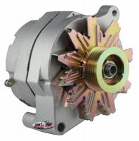 Ignition & Electrical System - Tuff Stuff Performance - Tuff Stuff Alternator - 140 AMP - 1-Wire - Smooth Back - Ford - 6-Groove Serpentine Pulley - Internal Regulator