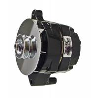 Ignition & Electrical System - Tuff Stuff Performance - Tuff Stuff Alternator - 100 AMP - Smooth Back - 1-Wire - Ford - V-Groove Pulley - Black