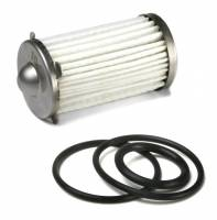 Fuel Filters - Fuel Filter Replacement Parts - Holley Performance Products - Holley Fuel Filter Element and O-ring Kit