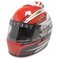Racing Helmet Deals - Pyrotect Helmet Deals - Pyrotect - Pyrotect Pro Airflow Patriot Graphic Top Forced Air Helmet