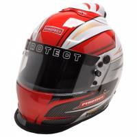 Racing Helmet Deals - Pyrotect Helmet Deals - Pyrotect - Pyrotect Pro Airflow Patriot Graphic Top Forced Air Duckbill Helmet