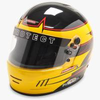 Snell SA2015 Rated Full Face Helmets - Pyrotect Snell SA2015 Rated Full Face Helmets - Pyrotect - Pyrotect Rebel Graphic Pro Airflow Helmet - Black/Yellow