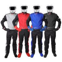 Crew Apparel - Crew Mechanics Suits - Pyrotect - Pyrotect Sportsman Deluxe SFI-1 Racing Suit