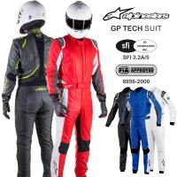 SFI-5 Rated Multi-Layer Suits - Shop All SFI-5 Auto Racing Suits - Alpinestars - Alpinestars GP Tech Suit