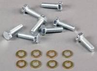 "Hardware and Fasteners - Wilwood Engineering - Wilwood Brake Rotor Bolt Kit - 5/16""-18 x 1.0"" - Hex Head - Steel (Set of 8)"