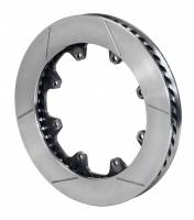 Wilwood Rotors - Wilwood GT Curved Vane Brake Rotors - Wilwood Engineering - Wilwood GT 48 Curved Vane Rotor LH