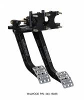 Pedal Assemblies  and Components - Brake / Clutch Pedal Assemblies - Wilwood Engineering - Wilwood Reverse Swing Mount Brake and Clutch Pedal
