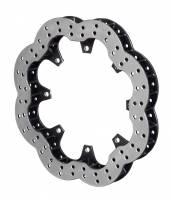 "Wilwood Rotors - WilwoodUltralite Scalloped Brake Rotors - Wilwood Engineering - Wilwood Super Alloy Scalloped 11.75 x 1.25"" Rotor"