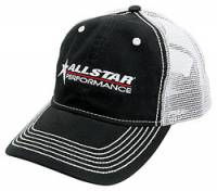 Crew Apparel - Hats - Allstar Performance - Allstar Performance Allstar Hat - Black w/ White Mesh Back