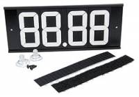 Drag Racing Body Components - ET Dial In Boards & Markers - Allstar Performance - Allstar Performance Dial-In Board 4 Digit w/ Suction Cups and Velcro