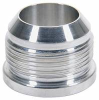 Weld-On Bungs and Fittings - Male AN Aluminum Weld-On Bungs - Allstar Performance - Allstar Performance 10 AN Male Weld Bung - Aluminum