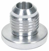 Weld-On Bungs and Fittings - Male AN Aluminum Weld-On Bungs - Allstar Performance - Allstar Performance 8 AN Male Weld Bung - Aluminum
