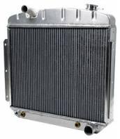 Allstar Performance Radiators - Allstar 1955-57 Chevy Aluminum Radiators - Allstar Performance - Allstar Performance Radiator 1957 Chevy 6 Cylinder w/ Trans Cooler