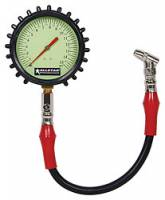 "Tire Pressure Gauges - Glow-In-The-Dark Tire Gauges - Allstar Performance - Allstar Performance 4"" Tire Pressure Gauge - 0-15 PSI"
