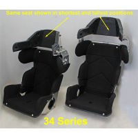 "Kirkey Racing Fabrication - Kirkey 34 Series Adjustable Child Containment Seat w/ Cover - 14"" - Image 8"