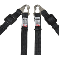 Kids Race Gear - Kids Head & Neck Restraints - Simpson Race Products - Simpson Hybrid Sport Post Clip Tether Set