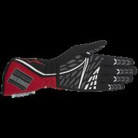 Alpinestars 2017 Tech 1-Z Auto Racing Glove - Black/Red/White (Palm) 3550217-132