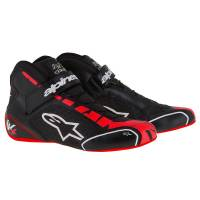 Racing Shoes - Kart Racing Shoes - Alpinestars - Alpinestars Tech 1-KX Karting Shoe - Black/Red/White