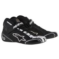 Racing Shoes - Kart Racing Shoes - Alpinestars - Alpinestars Tech 1-KX Karting Shoe - Black/Silver/White