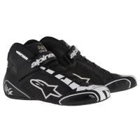 Racing Shoes - Kart Racing Shoes - Alpinestars - Alpinestars Tech 1-KX Karting Shoe - Black/Silver/White
