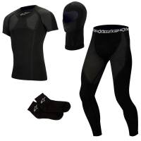 Karting Gear - Karting Underwear - Alpinestars - Alpinestars Complete KX Tech Layer Set - Short Sleeve