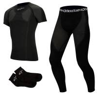Karting Gear - Karting Underwear - Alpinestars - Alpinestars KX Tech Layer Set - Short Sleeve