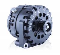 Alternator - Alternators - MechMan Alternators - MechMan E Series 370 Amp Billet - GM Truck