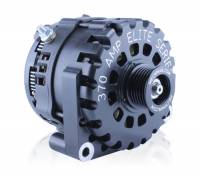 Ignition & Electrical System - MechMan Alternators - MechMan E Series 370 Amp Billet - 2 Pin GM Truck