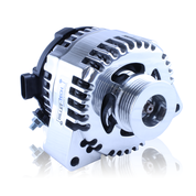 MechMan Alternators - MechMan S Series Billet 170 Amp Racing Alternator - C6 Corvette - Polished Finish