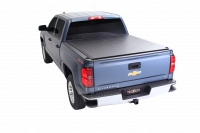 Truxedo - Truxedo Deuce Tonneau Cover Folding/Roll-Up Velcro Attachment Vinyl Top - Black - 5.8 ft Bed