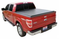 Truxedo - Truxedo Lo Pro QT Tonneau Cover Roll-Up Velcro Attachment Vinyl Top - Black