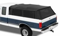 Tonneau Covers and Components - Dodge / RAM Tonneau Covers - Bestop - Bestop Supertop For Trucks Truck Bed Cap Tinted Windows Top/Frame Canvas - Black